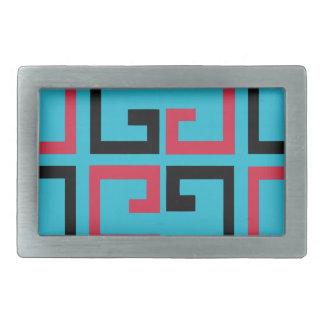 Funky Tiles Belt Buckle