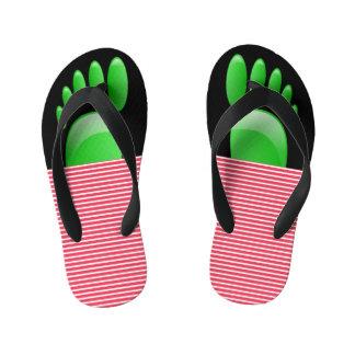 Funky Toes Flip Flops
