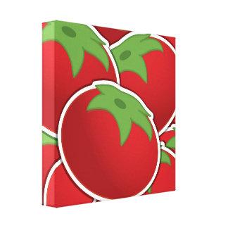 Funky tomato canvas print