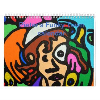Funky Town Calendar