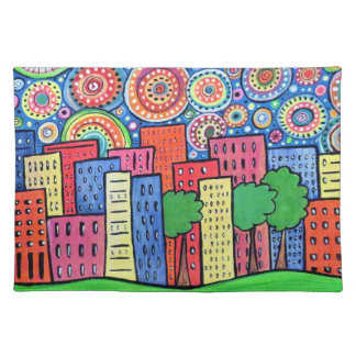 Funky Town Placemat