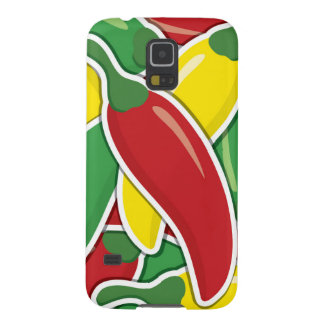 Funky traffic light chilli peppers galaxy s5 cover