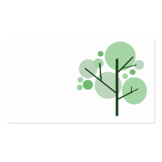 Funky Tree! Double-Sided Standard Business Cards (Pack Of 100)