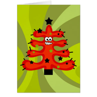 Funky Tree Card