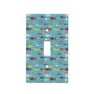 Funky Trendy Fish Light Switch Cover