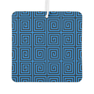 Funky Trendy Retro Abstract Pattern Air Freshener