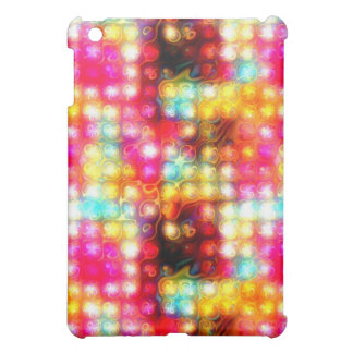 funky tropical colors abstract 2 iPad mini covers