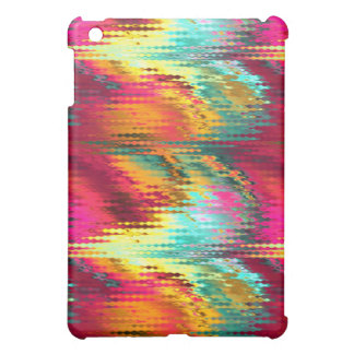 funky tropical colors abstract iPad mini case