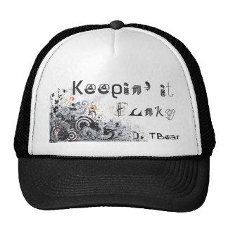 Funky Trucker (Black & White) Trucker Hat