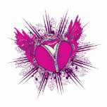 funky unzipped heart vector illustration photo sculptures