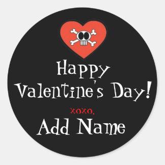 Funky Valentine Gift Sticker