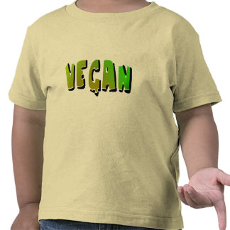 Funky Vegan With Shading T Shirts