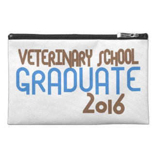 Funky Veterinary School Graduate 2016 (Blue) Travel Accessories Bags