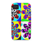 Funky Vibe iPhone 4 Cover