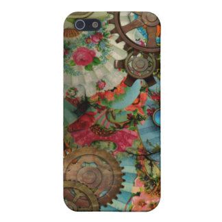 Funky Victorian Brass iPhone 4 Cover For iPhone SE/5/5s