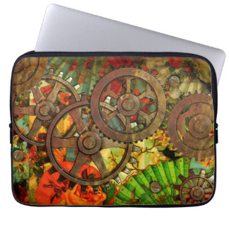 Funky Victorian Steampunk Laptop Sleeve