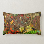 Funky Victorian Steampunk Throw Pillow