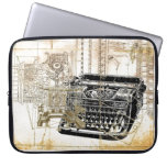 Funky vintage Retro Type writer Electronic Bag Laptop Sleeve