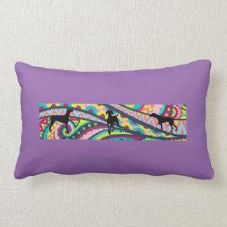 Funky Vizsla Town Pillow