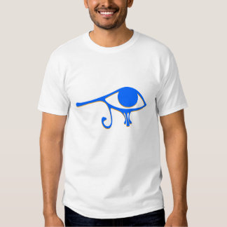 Funky Wadjet Blue Gold T-shirt