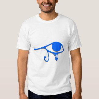 Funky Wadjet Blue Gold Tee Shirt