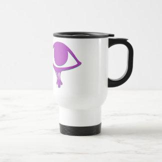 Funky Wadjet Magenta Ash Travel Mug