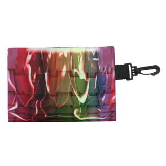Funky Water Abstract Accessory Bags
