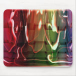 Funky Water Abstract Mouse Pad