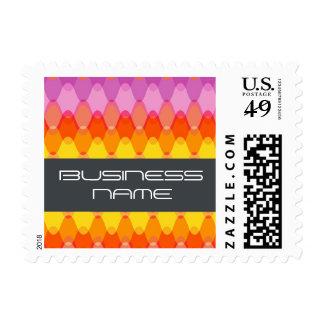 Funky Waves | 01 * Modern Designer Custom Postage