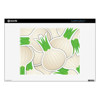Funky white onions skins for laptops