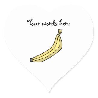 Funky Yellow country banana sticker
