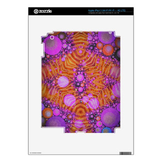 Funky Zebra Abstract iPad 3 Skins