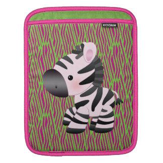 Funky Zebra & Animal Print iPad & Laptop Sleeve