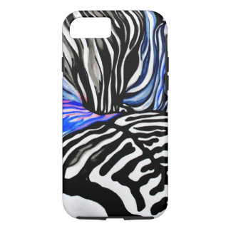 Funky Zebra (Kimberly Turnbull Art) iPhone 8/7 Case