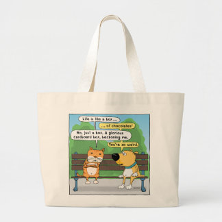 Funn Cat and Dog Tote Bag