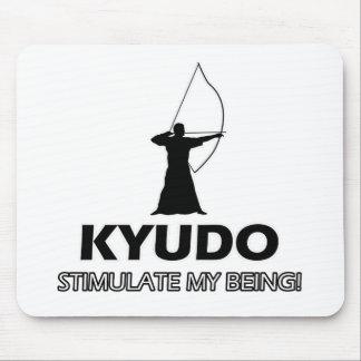 funn Kyudo design Mouse Pads