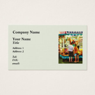 Funnel Cake Business Card