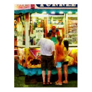 Funnel Cake Postcard