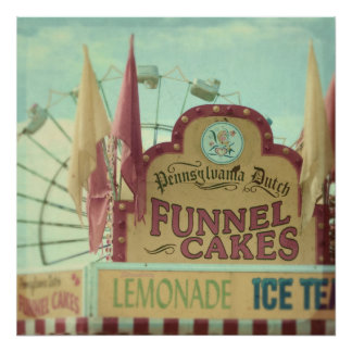 Funnel cakes print