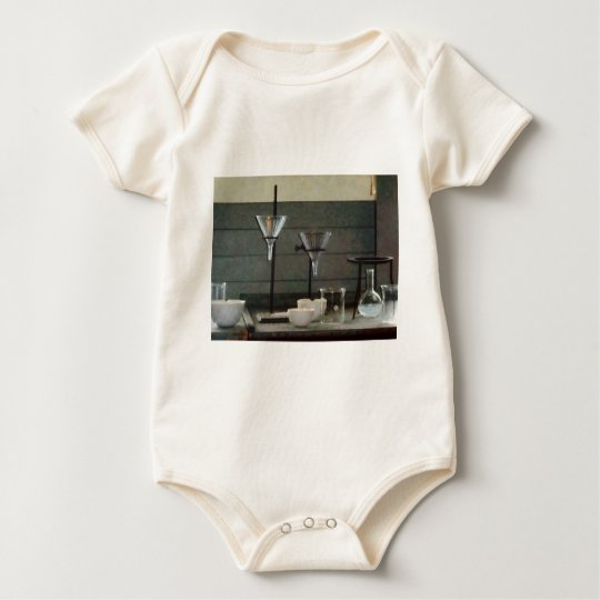 Funnels, Flasks and Crucibles Baby Bodysuit