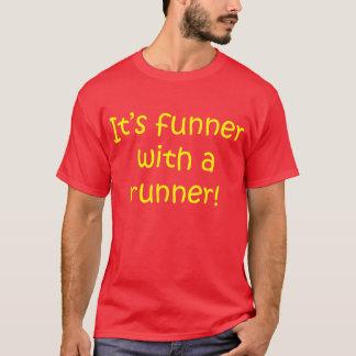 Funner With Runner Mens T-Shirt