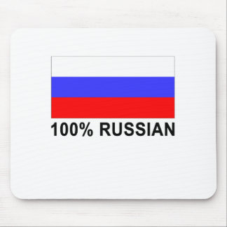 Funny 100 percent Russian Gift Present Mouse Pad