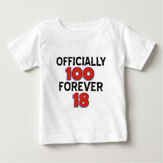 FUNNY 100 year birthday designs Baby T-Shirt