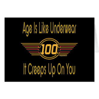 Funny 100th Birthday Gifts Card