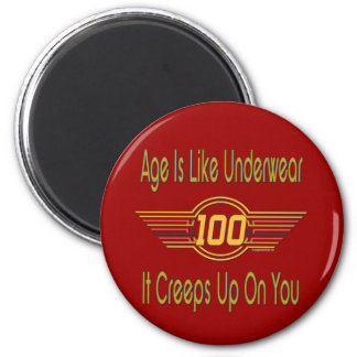 Funny 100th Birthday Gifts Magnet
