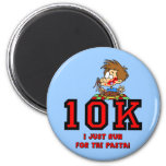 Funny 10K race Fridge Magnet