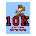 Funny 10K race Post Card