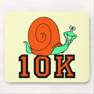 Funny 10K running Mousepad