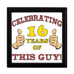 Funny 16th Birthday For Boys Gift Boxes