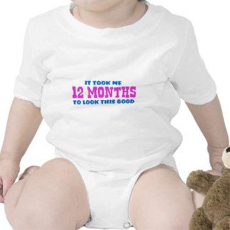 Funny 1st Birthday Baby Creeper